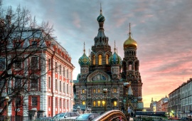 Saint Petersburg City In Russia