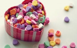 Saint Valentines Day Candy