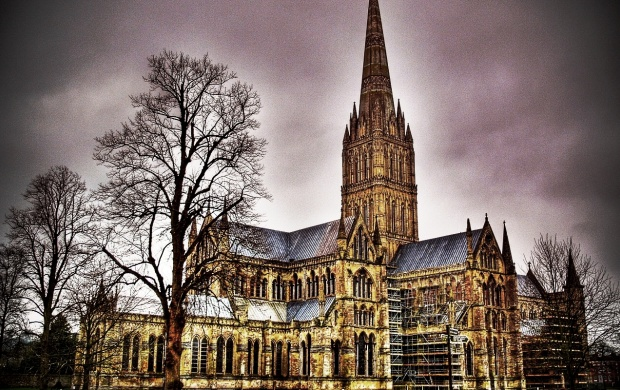 Salisbury Cathedral (click to view)