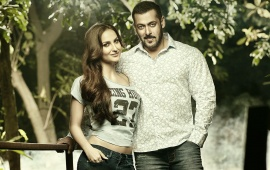 Salman Khan And Elli Avram