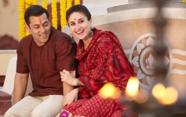 Salman Khan And Kareena Bajrangi Bhaijaan