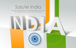 Salute India Republic Day