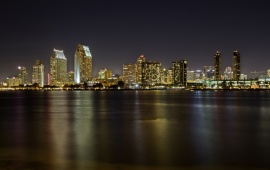 San Diego Night Lights