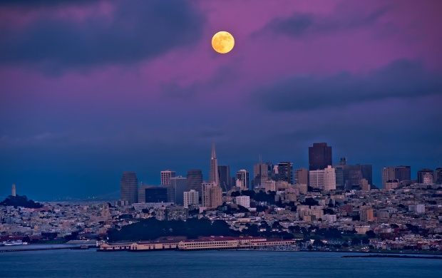 San Francisco Moon (click to view)