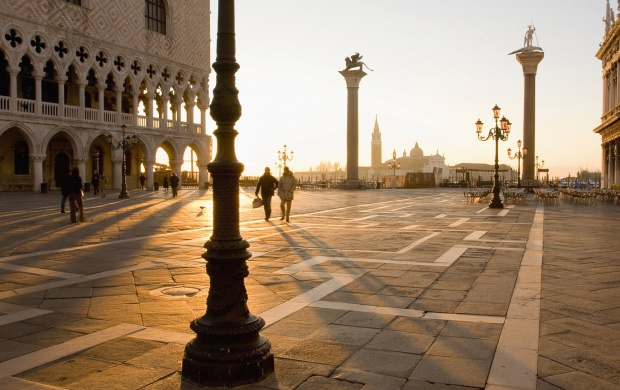San Marco Square in Venice (click to view)