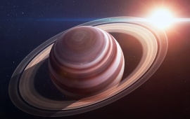 Saturn Planet Ring