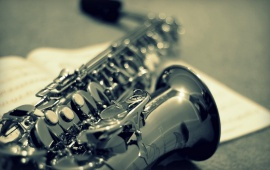 Saxophone Music Instrument