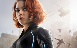 Scarlett As Black Widow Avengers 2015
