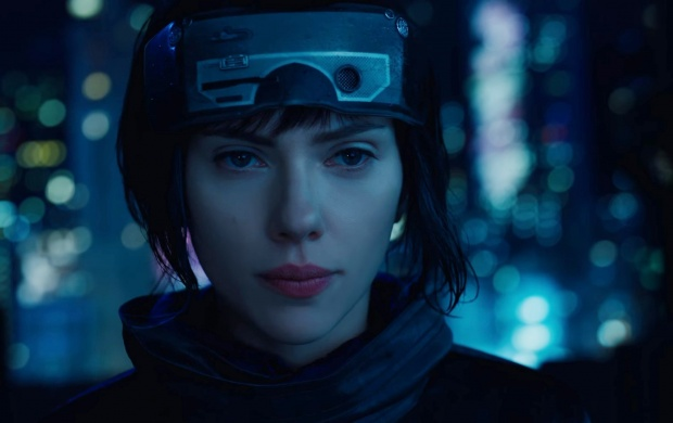 Scarlett Johansson As The Major Ghost In The Shell (click to view)