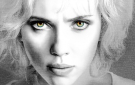 Scarlett Johansson In Lucy Movie
