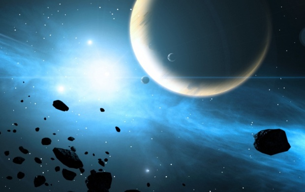 Sci Fi Explosions Planets Energy (click to view)