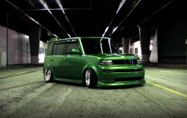 Scion XB Green