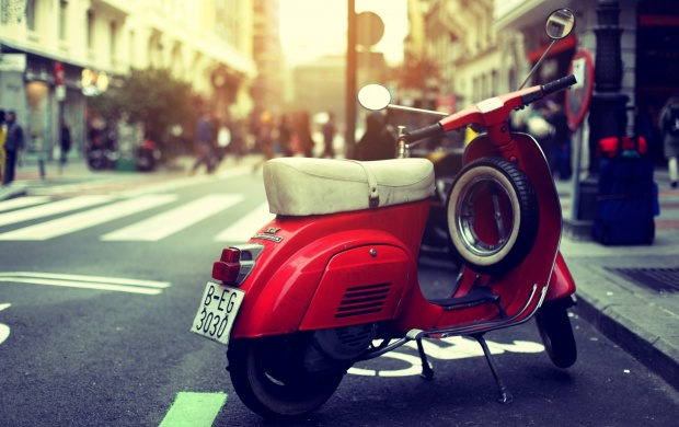 Scooter Vespa (click to view)