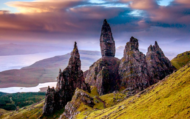 Scotland Mountains Stones (click to view)