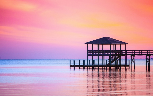 Sea Pink Sunset (click to view)