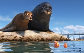 Seals Nemo Fish Finding Dory