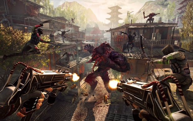Shadow Warrior 2 4 Player Co Op Screenshot (click to view)