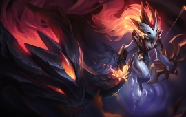 Shadowfire Kindred Skin League Of Legends