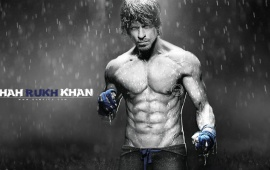 Shah Rukh Khan Eight Pack Abs