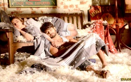 Shahid And Alia Sleeping Shaandaar