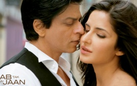 Shahrukh Khan And Katrina Kaif Movie Stills