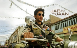 Shahrukh Khan New Look With Army Dress