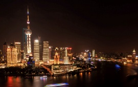 Shanghai Night Light