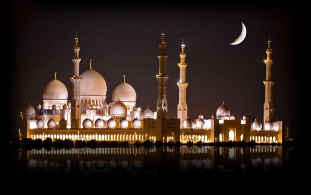Sheikh Zayed Mosque (click to view)