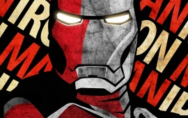 Shepard Fairey Iron Man