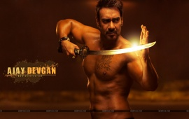 Shirtless Ajay Devgan