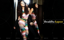 Shraddha Kapoor Black Background