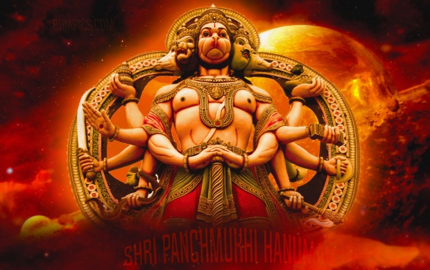49327 Views Shri Panchmukhi Hanuman