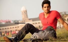 Sidharth Malhotra Smiley Face