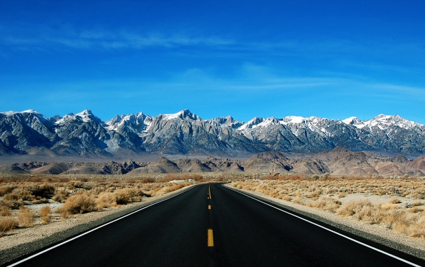 Sierra Nevada And Mount Whitney (click to view)