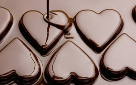 Silk Chocolate Heart