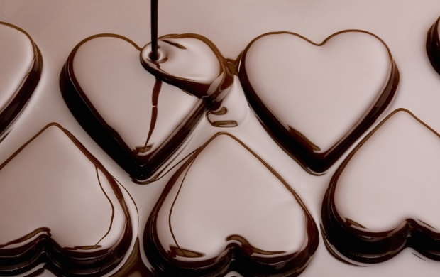 Silk Chocolate Heart (click to view)