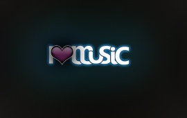 Simple I Love Music