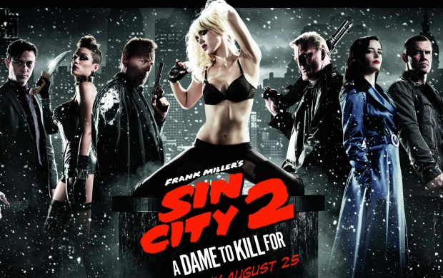 Sin City: A Dame To Kill For 2014 Poster (click to view)