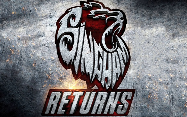 Singham Returns Logo (click to view)