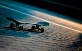 Skateboard On Road