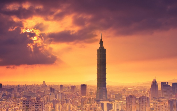 Sky Touching Taipei 101 (click to view)