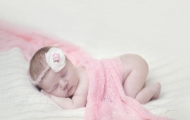 Sleep Baby Pink Clothes