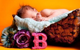 Sleeping Baby Flower