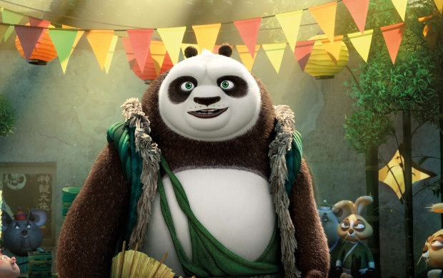 Smiley Kung Fu Panda 3 Movie (click to view)