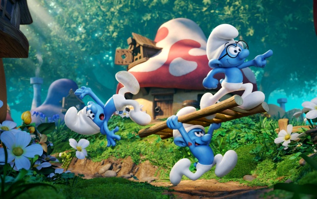 Smurfs The Lost Village 2017 (click to view)
