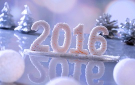 Snow New Year 2016