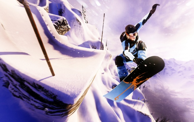 Snowboarding SSX (click to view)