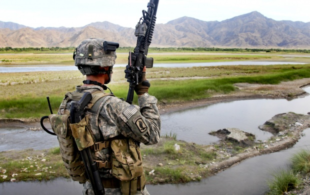 Soldier Kunar River (click to view)