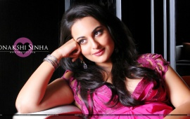 Sonakshi Sinha In Pink Dress