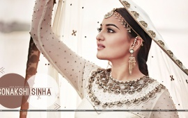Sonakshi Sinha In White Choli